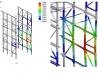 Stabilitätsuntersuchung einer Stahlbaukonstruktion